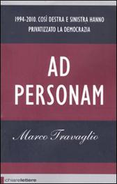 """Trama Libro """"Ad personam"""""""