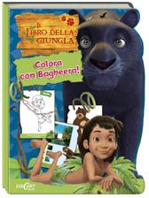 """Recensione Libro """"Il libro della giungla – Colora con Bagheera!"""""""