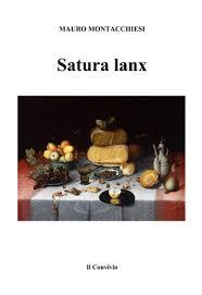 """Recensione Libro """"Satura lanx"""""""
