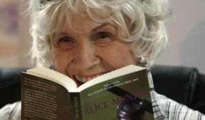 Vincitrice Premio Nobel per la Letteratura 2013 Alice Munro