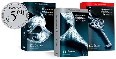 Articolo sulla serie amata e odiata Cinquanta Sfumature di E.L. James