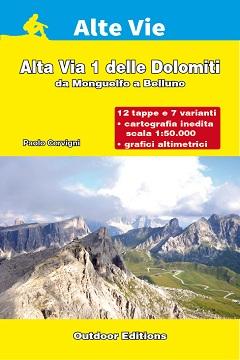 Recensione guida Alta Via 1 delle Dolomiti da Monguelfo a Belluno
