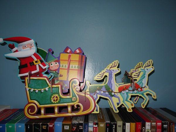 Incastra e costruisci la slitta di Babbo Natale