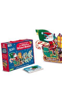 Incastra e costruisci la slitta di Babbo Natale: recensione libro bambini