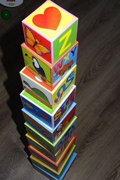 Eco-cubotti Il mio primo alfabeto di Sassi Junior: recensione libro gioco